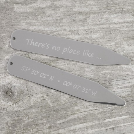 No Place Like ... Co-ordinate Collar Stiffeners