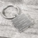 Personalised Memorable Co-ordinate Keyring