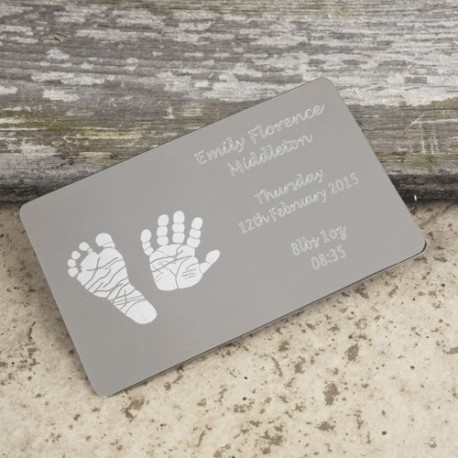 Credit Card Print Keepsake