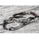 Personalised Soundwave Men's Bracelet