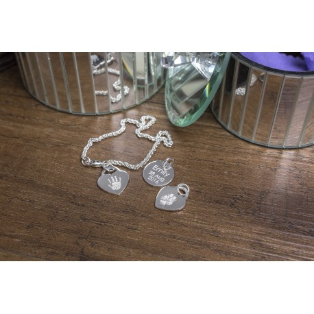 Personalised Paw Print Bracelet