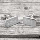 Personalised Date Cufflinks