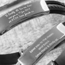 Personalised Message Bracelet for Men