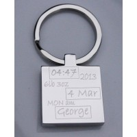 Birth Celebration Keyring